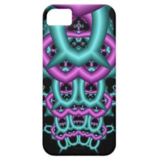 抽象的なフラクタルの芸術(107) iPhone SE/5/5s CASE
