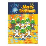 """日本のクリスマス - Japanese Christmas Invitación 5"""" X 7"""""""
