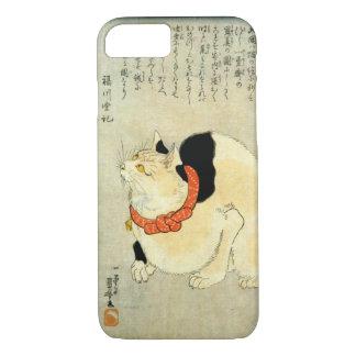 日本猫, 国芳 Japanese Cat, Kuniyoshi, Ukiyo-e iPhone 8/7 Case