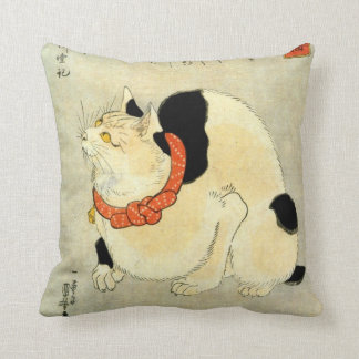 日本猫, gato japonés del 国芳, Kuniyoshi, Ukiyo-e Cojin