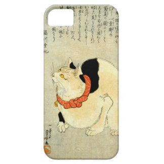 日本猫, gato japonés del 国芳, Kuniyoshi, Ukiyo-e iPhone 5 Case-Mate Protector