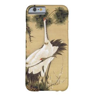 旭日松鶴図, 若冲 Cranes & Morning sun, Jakuchū Barely There iPhone 6 Case