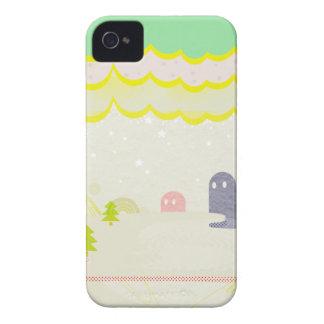 星の国の不思議な生き物Delta01typeD かわいいiPhone ケース カバー Case-Mate iPhone 4 Case