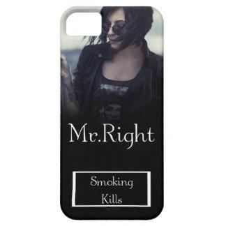 映画のジャケットのようなファッションアイテム de las matanzas que fuma iPhone 5 carcasas