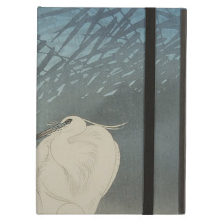 月と白鷺 古邨 Egrets Moon Koson Ukiyo-e iPad Cover