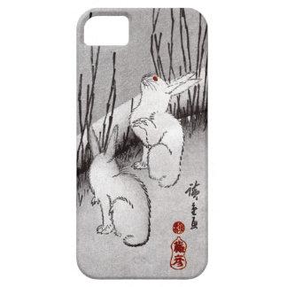 月に兎, 広重 Moon and Rabbits, Hiroshige, Ukiyo-e iPhone SE/5/5s Case