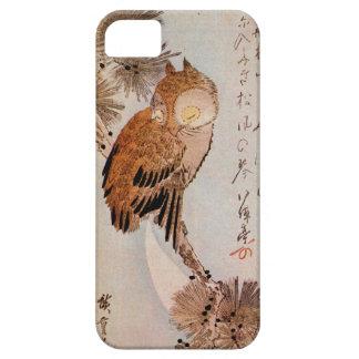 月夜のみみずく, 広重 Moonlight Owl, Hiroshige, Ukiyo-e iPhone 5 Case