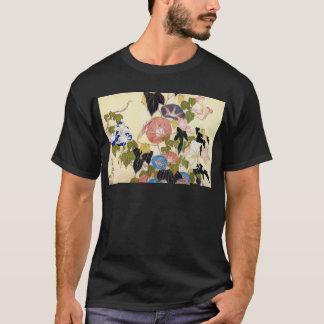 朝顔, 北斎 Morning Glory, Hokusai, Ukiyo-e T-Shirt