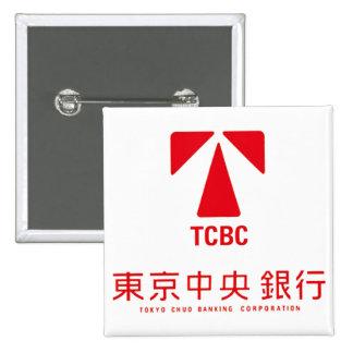 東京中央銀行バッジ PINS