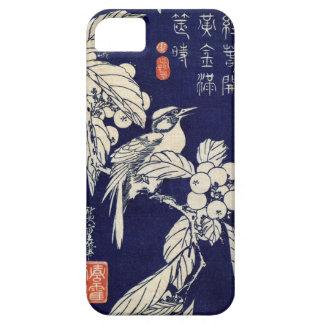 枇杷に鳥, 広重 Bird and Loquat, Hiroshige, Ukiyo-e iPhone SE/5/5s Case