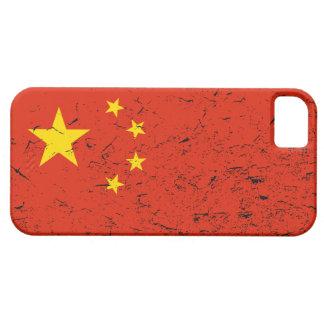 案例 apenado bandera del 中国国旗 iPhone5 del caso del iPhone 5 Case-Mate Cárcasa