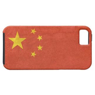 案例 apenado bandera del 中国国旗 iPhone5 del caso del iPhone 5 Protector