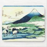 梅沢, 北斎 View Mt.Fuji from Umezawa, Hokusai, Ukiyo-e Mouse Pad