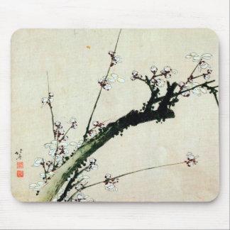 梅花, 北斎 Plum Blossoms, Hokusai, Ukiyo-e Mouse Pad