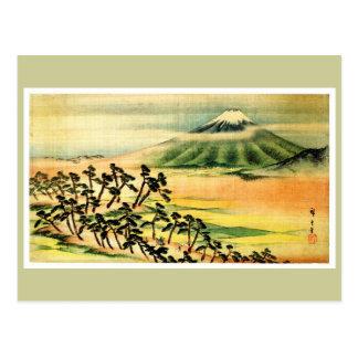 歌川広重 Landscape Painting, Utagawa Hiroshige Postcard