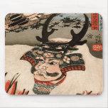武田信玄, 国芳 Takeda Shingen, Kuniyoshi, Ukiyo-e Tapetes De Ratones