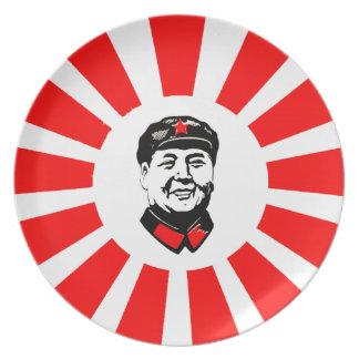 毛泽东 de la placa de Mao Platos Para Fiestas