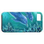 水晶とイルカの海1 iPhone 5 FUNDAS