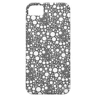 水玉模様の渦巻のiPhone iPhone 5 Cases
