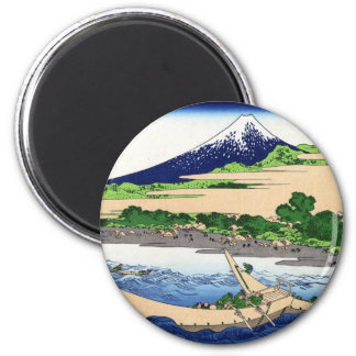 江尻田子の浦, 北斎 View Mt.Fuji from Tagonoura, Hokusai Magnet