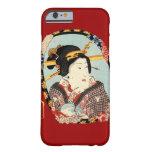 江戸の歌舞伎役者, actor de Edo Kabuki del 豊国, Toyokuni, Funda Para iPhone 6 Barely There
