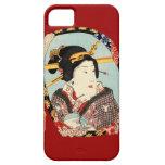 江戸の歌舞伎役者, actor de Edo Kabuki del 豊国, Toyokuni, iPhone 5 Fundas