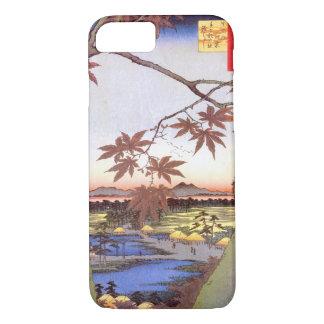 江戸の紅葉, 広重 Maple of Edo, Hiroshige, Ukiyo-e iPhone 7 Case