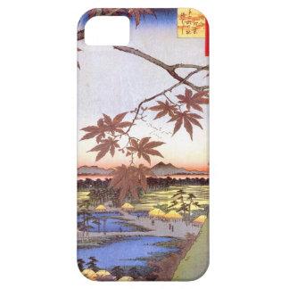 江戸の紅葉, 広重 Maple of Edo, Hiroshige, Ukiyo-e iPhone SE/5/5s Case