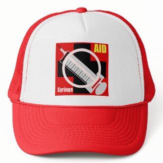 注射禁止 hat