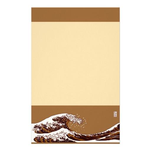 浮世絵風コーヒー stationery レター用品