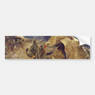 海ワシ 巣 バンパーステッカー