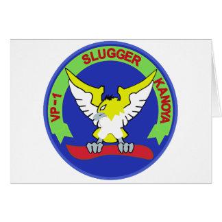 海上自衛隊第1航空隊フルカラ-パッチ GREETING CARD