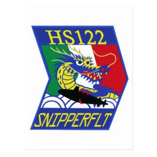 海上自衛隊第122航空隊 パッチ POSTCARD