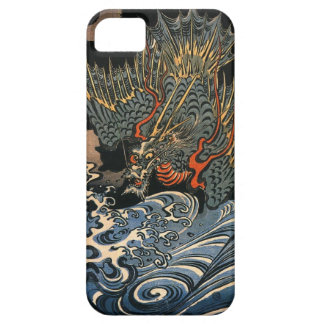 海龍, 国芳, Sea Dragon, Kuniyoshi, Ukiyo-e iPhone SE/5/5s Case