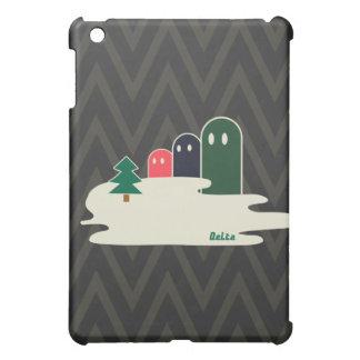 湖の不思議な生き物Delta01typeB かっこいいiPadケース Cover For The iPad Mini