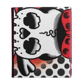 点のDokuro Chanの白 iPad Folio Cover