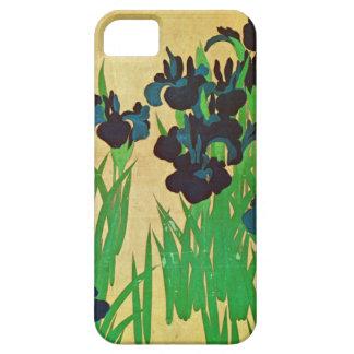 燕子花図(部分), 光琳 Irises(detail), Kōrin, Japan Art iPhone SE/5/5s Case