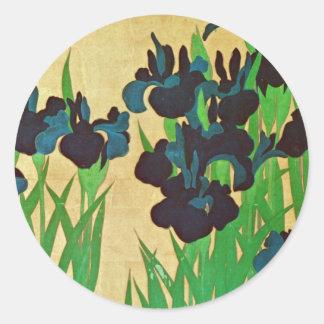 燕子花図(部分), 光琳 Irises(detail), Kōrin, Japan Art Sticker