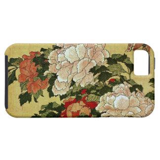 牡丹に蝶 Peonies Butterfly 葛飾北斎 Katsushika Hokusai iPhone 5 Cases
