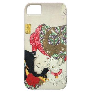 猫が好き, gatos del amor del 芳年 I, Yoshitoshi, Ukiyo-e iPhone 5 Protector