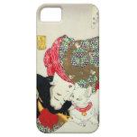 猫が好き, gatos del amor del 芳年 I, Yoshitoshi, Ukiyo-e Funda Para iPhone 5 Barely There