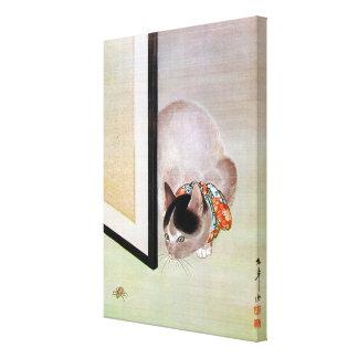 猫と蜘蛛, 東皐 Cat and Spider, Toko Gallery Wrap Canvas