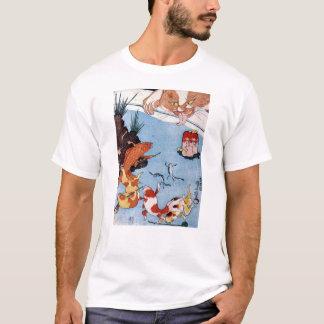 猫と金魚, 国芳 Cat and Goldfish, Kuniyoshi, Ukiyo-e T-Shirt