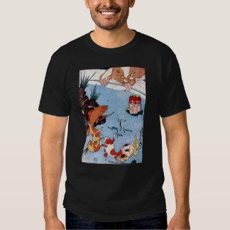 猫と金魚, 国芳 Cat and Goldfish, Kuniyoshi, Ukiyo-e T-shirts