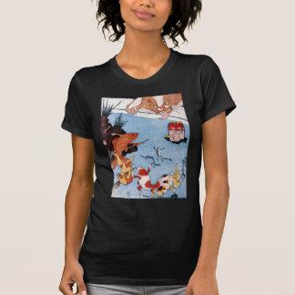 猫と金魚, 国芳 Cat and Goldfish, Kuniyoshi, Ukiyo-e Tshirts
