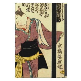 猫の役者, 国芳 Actors of The Cat, Kuniyoshi, Ukiyo-e Case For iPad Mini