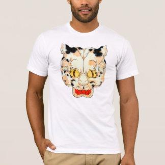 猫の顔, 芳藤 Face of The Cat, Yoshifuji, Ukiyo-e T-Shirt