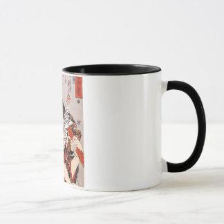 猫の髑髏模様, 国芳 Skull Pattern Made of Cats, Ukiyoe Mug