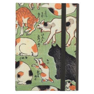 猫尽両めん合, 芳藤 Cats of The Edo era, Yoshifuji, Ukiyo-e iPad Air Case