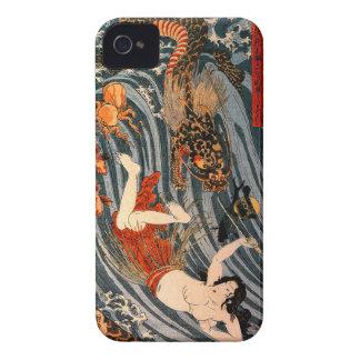 "玉取姫 iPhone 4S de ""princesa Jewel Taker"" Case-Mate iPhone 4 Carcasas"